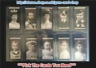 ☆ Wills - Portraits of European Royalty 1908 Series 1 & 2 (F) *Please Select*