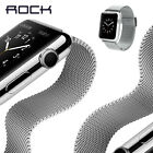 Stainless Steel Strap Classic Buckle Watch Band Adapter for Apple Watch 38/42mm