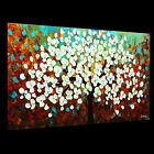 Tree Landscape Modern Art Custom Painting Contemporary knife Texture Huge Canvas