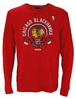 Reebok NHL Hockey Men's Chicago Blackhawks Long Sleeve Thermal Shirt, Red