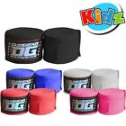 KIDS JUNIOR  DUO MUAY THAI KICKBOXING BOXING MMA HAND WRAPS 1.5m