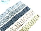 22mm Stainless Steel wristband watch bracelet Brushed Polishing New multicolored