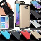 Hybrid Rugged Armor Heavy Duty Hard PC+TPU Cover Case For Samsung S6& Edge/Note4