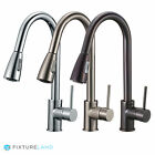 "16"" Pull Down Kitchen & Bar Sink Faucet - One Hole / Handle"