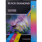 BLACK DIAMOND PREMIUM QUALITY A4 GLOSSY ADHESIVE STICKY PHOTO PAPER 135GSM