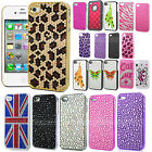 CRYSTAL DIAMOND CASE BLING DIAMANTE COVER HARD FOR HTC Desire Various Phones