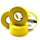 YELLOW ELECTRICAL PVC INSULATION / INSULATING  TAPE 19mm x 33m FLAME RETARDANT