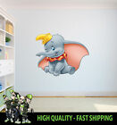 PRINTED WALL ART DUMBO GRAPHIC STICKER KIDS BED ROOM