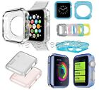 For Apple Watch iWatch 38mm/42mm Clear Crystal Silicone TPU Soft Hard Case