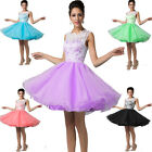 2015 Short Mini SEMI FORMAL Party Evening Ball Gown Formal Prom Bridesmaid Dress