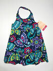 NWT: New Sonoma Blue, Purple, Pink Butterfly Halter Dress, 24 mo, Rtls $22