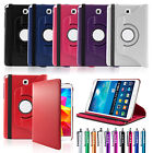 For Samsung Galaxy Tab A 9.7 T550 Folio Magnetic 360 Rotating Leather Case Cover