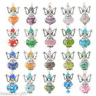 1PC Hand Made Guardian Angel Pendants Beads Wing Jewelry Supplies Fashion NEW