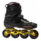 KRF Freeskate Line Angel Inline / Roller Skates - Black Gold