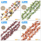 6x8mm Freeform Gemstone Freshwater Pearl Jewelry Making Beads Strand 15""