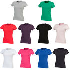 Womens SF Comfort Fit Short Sleeve Crew Neck Feel Good Stretch T-Shirt Size 8-18