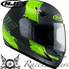 HJC CS-14 PASO GREEN FULL FACE MOTORCYCLE MOTORBIKE BIKE HELMET