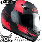 HJC CS-14 PASO RED FULL FACE MOTORCYCLE MOTORBIKE BIKE HELMET