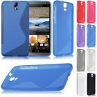 Fashion Soft S line TPU Silicone Gel Back Cover Case Skin For HTC One E9+ Plus