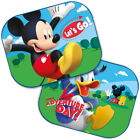 2x Disney Car Sun Shades UV Baby Children Kids Window Minnie Peppa Winnie Frozen