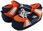 Denver Broncos Slippers Hi Top Boot Sneaker Style