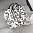 A1-R3018 Fashion Lucky Cloud Ring 18KGP Swarovski Crystal Size 5.5,6,6.5