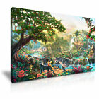 DISNEY The Jungle Book Canvas Framed Print Kids Room Deco ~ More Size