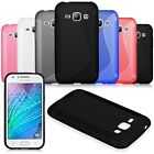 Fashion Soft Rubber TPU Silicone Gel Back Cover Case Skin For Samsung Galaxy J1