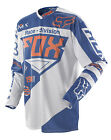 Fox Racing 360 Intake Blue White Dirt Bike Jersey Motocross MX ATV 2014