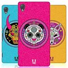 HEAD CASE DESIGNS ANIMAL SUGAR SKULLS HARD BACK CASE FOR SONY XPERIA Z3 PLUS