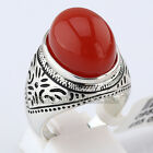 Simulated Gemstone Fashion Ring 18KGP Size 6-8