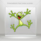 Sticker Decal Happy smile Frog