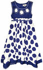 Girls Sleeveless Polkadot Dress New Kids Cotton Summer Dresses Ages 2-10 Years