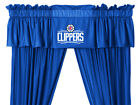LOS ANGELES CLIPPERS VALANCE WITH DRAPES SET - 19-3474