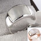 A1-R222 Fashion Simulated Opal Ring 18KGP Size 5.5,6,6.5