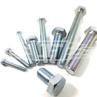 M20 (20mm) FULLY THREADED SET SCREW GRADE 8.8 ZINC SCREW HEXAGON HEX HEAD BOLT