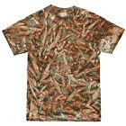 """Womens Colortone Camo Shortsleeved Crew Neck Graphic T-Shirt Size 34/36""""-50/52"""""""