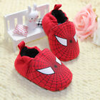 New Spiderman Baby boy slip on Shoes Soft Sole Infant First Walkers