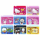 SANRIO KITTY MELODY DORAEMON BATMAN TWO LAYERS PVC CARD HOLDER W/ ZIPPER 6183