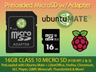 UBUNTU MATE + LibreOffice Firefox VLC for Raspberry Pi 2 & 3 PreLoaded Micro SD