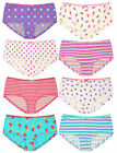Ladies Various Bright Printed Boyfriend Short Knickers Womens Underwear Briefs