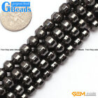 Column Pointy Gemstone Magnetic Black Hematite DIY Jewelry Making Loose Beads15""