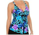 Ocean Dream Signature Flyaway Tankini Top A252635
