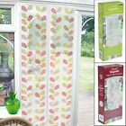 Printed Magnetic Door Screen Curtain Protects Against Insects Bugs 90cm x 120cm