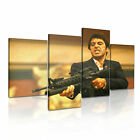 Scarface Tony Montana & Gun Movie Canvas Wall Art Picture Print ~ 4pc