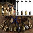 Ceiling Pendant Vintage E27 Screw Bulb Lamp Holder with Wire Cord Grip G