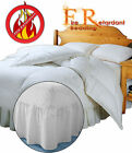 Fire Retardant - FITTED VALANCE SHEET - BS7-175 Crib7 in 4 Colour and 6 Sizes