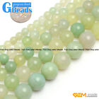 Natural Green Grape Agate Gemstone Round Beads For Jewelry Making Free Shipping