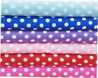 "Polka Dot Fabric 100% Cotton 55"" Wide Sold BTY Penny Dots Sewing Quilting"