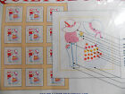 Jack Dempsey Quilt Blocks to Embroider U Choose Kittens Little Boy Girl Overall